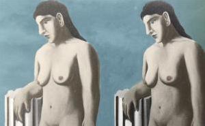 马格里特遗失画作《迷人的姿势》(La pose enchantée)终完整复原