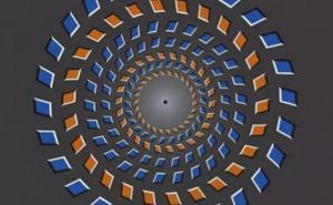 让你大脑崩溃15毫秒的视错觉图