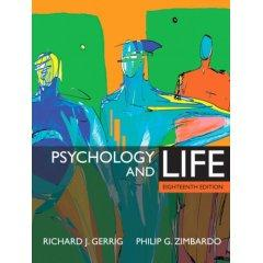 Psychology and Life 18/E (MyPsychLab Series)